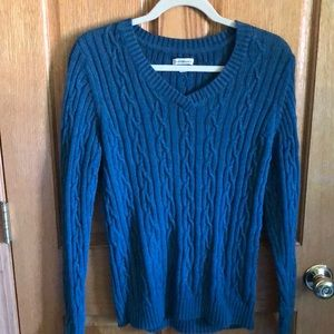 Croft & Barrow cable knit V-neck sweater